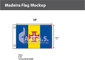 Madeira Flags 12x18 inch
