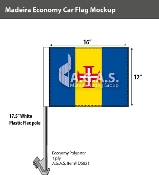 Madeira Car Flags 12x16 inch Economy