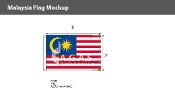 Malaysia Flags 2x3 foot