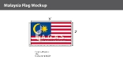 Malaysia Flags 3x5 foot