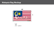 Malaysia Flags 6x10 foot