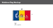 Moldova Flags 6x10 foot