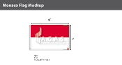 Monaco Flags 4x6 foot