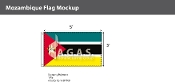 Mozambique Flags 3x5 foot