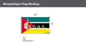 Mozambique Flags 6x10 foot
