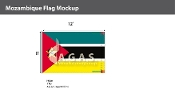 Mozambique Flags 8x12 foot