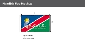 Namibia Flags 3x5 foot