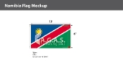 Namibia Flags 6x10 foot