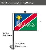 Namibia Car Flags 12x16 inch Economy
