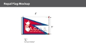 Nepal Flags 2x3 foot