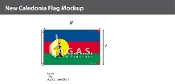 New Caledonia Flags 5x8 foot