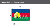 New Caledonia Flags 8x12 foot