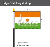 Niger Stick Flags 4x6 inch
