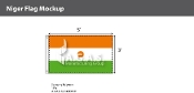 Niger Flags 3x5 foot