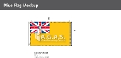 Niue Flags 3x5 foot