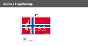 Norway Flags 6x10 foot
