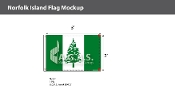 Norfolk Island Flags 2x3 foot