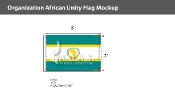 Organization Of African Unity Flags 2x3 foot