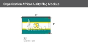 Organization Of African Unity Flags 6x10 foot