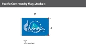 Pacific Community Flags 4x6 foot