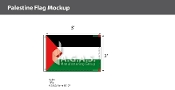 Palestine Flags 2x3 foot