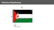 Palestine Flags 8x12 foot
