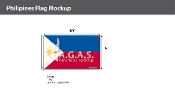Philippines Flags 6x10 foot