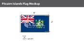 Pitcairn Islands Flags 3x5 foot