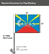 Reunion Car Flags 12x16 inch Economy