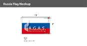 Russia Flags 6x10 foot