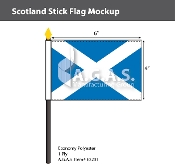 Scotland Stick Flags 4x6 inch