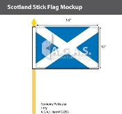 Scotland Stick Flags 12x18 inch