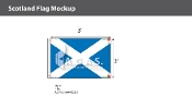 Scotland Flags 2x3 foot