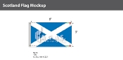 Scotland Flags 3x5 foot
