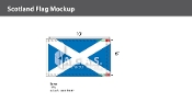Scotland Flags 6x10 foot