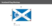 Scotland Flags 8x12 foot