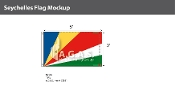 Seychelles Flags 3x5 foot