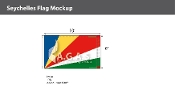 Seychelles Flags 6x10 foot