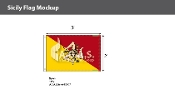 Sicily Flags 2x3 foot