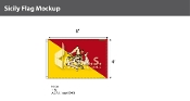 Sicily Flags 4x6 foot