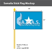 Somalia Stick Flags 12x18 inch