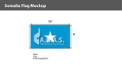 Somalia Flags 6x10 foot