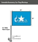 Somalia Car Flags 12x16 inch Economy