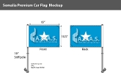 Somalia Car Flags 10.5x15 inch Premium