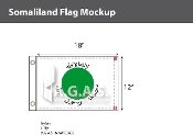 Somaliland Flags 12x18 inch
