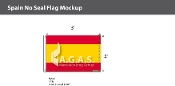 Spain Flags 2x3 foot (no seal)