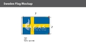 Sweden Flags 2x3 foot