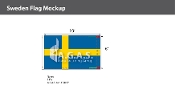 Sweden Flags 6x10 foot