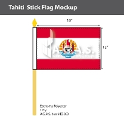 Tahiti Stick Flags 12x18 inch