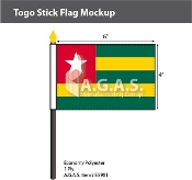 Togo Stick Flags 4x6 inch